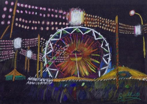 Feria de Sevilla 2-Lapices de colores